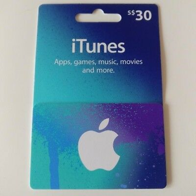 App Store & iTunes Gift Card $30 Fast Email Delivery
