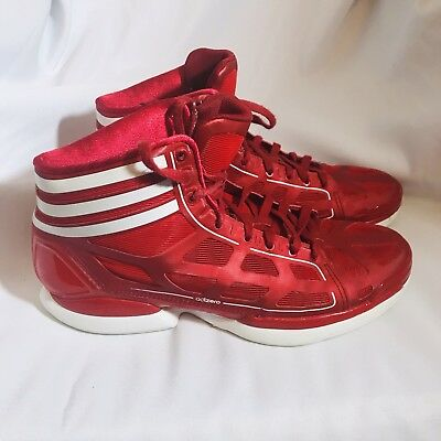 sports shoes 14d6f 13d89 Adidas Adizero 10.5 Red Good Condition