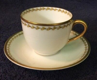 Demitasse Cup And Saucer Haviland, France . Limoges.