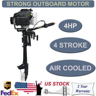 4 STROKE 4 HP Outboard Motor With Air Cooling System 52cc