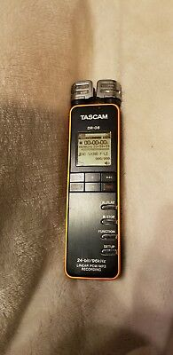TASCAM Digital Audio Recorder DR-08 with 2GB Micro SD Card