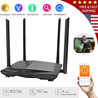 TOTOLINK AC1200 Dual Band Wireless WiFi Router A3 WiFi Speed Up to 1200Mbps