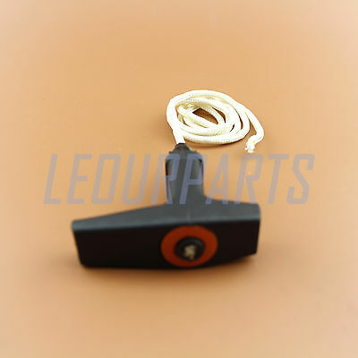 Starter Pull Handle with 3ft of 3.5mm Rope Replaces STIHL Fits all Chainsaws