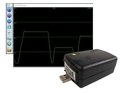 0 to +15V Low Cost 12 Bit Voltage Data Logger USB Data Acquisition System