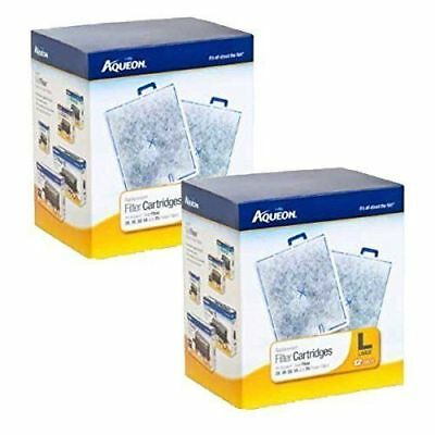 Aqueon Large Replacement Filter Cartridge, 24 count