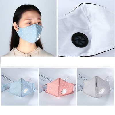 Health Care Washable Mouth Respirator Half Face Anti-Dust PM2.5 Mouth Mask~