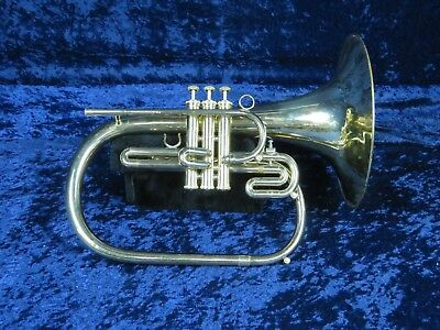 Dynasty F Mellophone Ser#C5906 Dynamite Sound in Really Good Condition