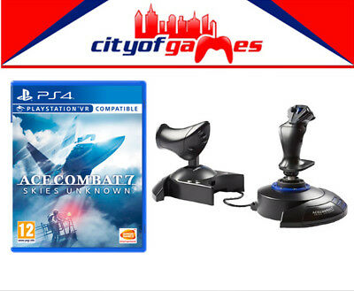 Ace Combat 7 Skies Unknown PS4 & T.Flight HOTAS Joystick For PS4