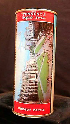 Tennents Lager English Series - 1950's 16Oz Flat Top Can - Windsor Castle