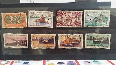 New Caledonia -  mix lot used stamps lot4