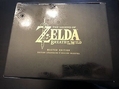 Legend of Zelda: Breath of the Wild - Master Edition - New/Sealed - Limited