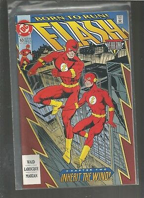 Flash #63. NM Wally West as the Flash. Year One Part 2.COMBINE SHIPPING