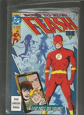 Flash #65  NM Wally West as the Flash. Year One Part 4.COMBINE SHIPPING