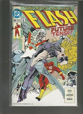 Flash #68  NM Wally West as the Flash. .COMBINE SHIPPING