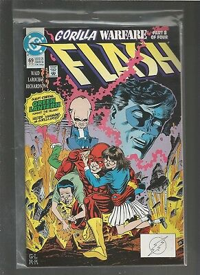 Flash #69  NM Wally West as the Flash. .COMBINE SHIPPING