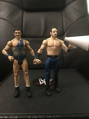 WWE Mattel Figure Lot Battle Pack 41 Simon Gotch Aiden English The Vaudevillians