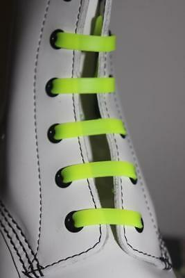Silicone Stretch No Tie Disability Kids Yellow Shoe Laces - In Stock Now in Oz!