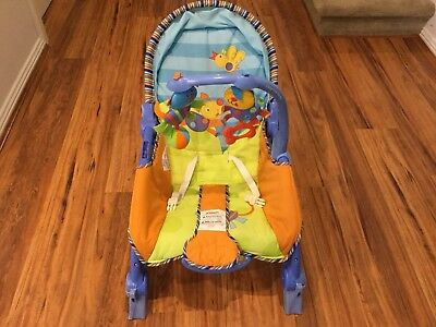 Musical Fisher Price Rocker Coverts To A Seat