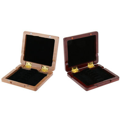 Baosity Oboe Reed Storage Wooden Case for 3pcs Reeds Strong