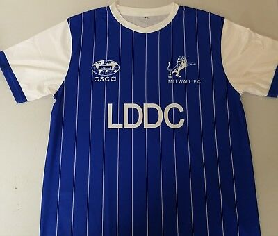 Millwall 1984-85 Replica Shirt Size XXL