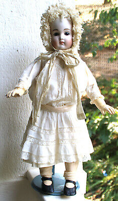 Kestner antique doll, st. wrist, closed mouth AT type MINT