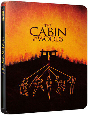 The Cabin in the Woods (4K UHD + Blu-ray Steelbook) BRAND NEW