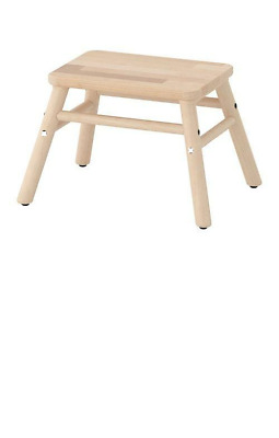 *New* VILTO  Step stool Birch *Brand IKEA*