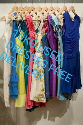 Wholesale Job Lot Bundles 10Kg Used Clothes Dresses Mixed Sizes And More
