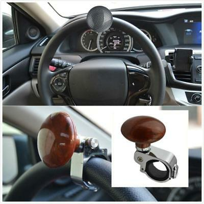 Auto Car Power Steering Wheel Ball Suicide Spinner Handle Auxiliary Knob Booster