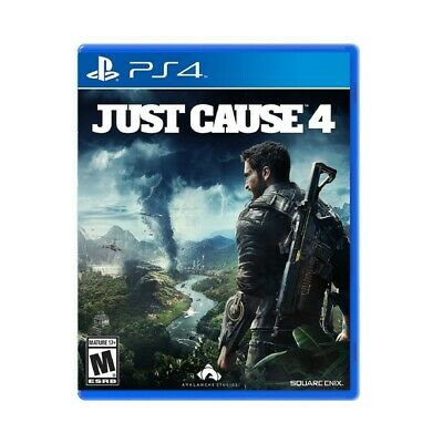 Video Gioco Sony Ps4 Just Cause Steel Box Edition Multilingue Italiano