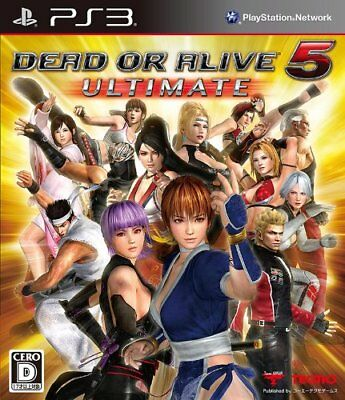 USED PS3 DEAD OR ALIVE 5 Ultimate Japan import