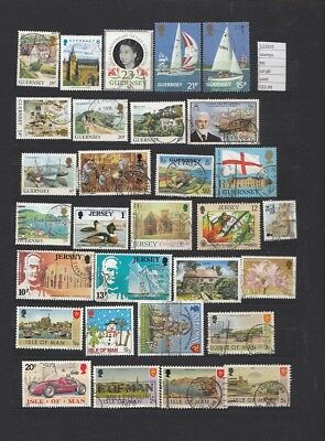 Stamps Lot British Colonies & Territories Used (L22925)
