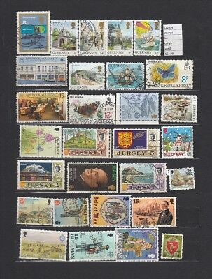 Stamps Lot British Colonies & Territories Used (L22914)
