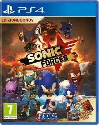 Video Gioco Sony Ps4 Sonic Forces Multilingue Italiano