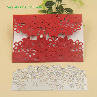 Flower Steel Cutting Die DIY Stencil Scrap Booking Album Paper Card Crafts YI