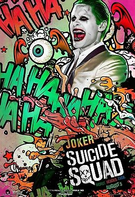 Suicide Squad - The Joker Poster Print - Wall Art - Buy 2 Get 1 Free