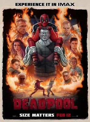 Marvel - Deadpool Movie Poster Print - Wall Art - Buy 2 Get 1 Free