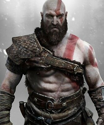 God Of War - Kratos Poster Print - Matte Wall Art - Buy 2 Get 1 Free