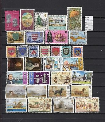 Stamps Lot British Colonies & Territories Jersey Used (L23314)
