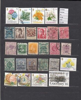 Stamps Lot British Colonies & Territories  Used  (L23568)