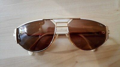CAZAL 964 Vintage Sonnenbrille  col 332 weiss gold Germany rare 60-16 135