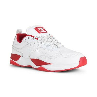 DC SHOES E Tribeka S JS White Red £37.99 | PicClick UK