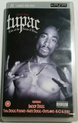 Tupac Live at the Hose of Blues UMD für PSP Playstation Portable