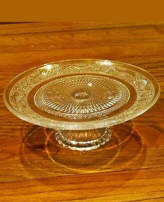 Glass Cake Stand 20cm in diameter