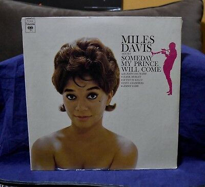 Miles Davis~Very Rare Sealed Lp~Someday My Prince Will Come~1973 Usa Press~Oop