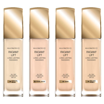 Max Factor Radiant Lift Foundation 30ml **CHOSE YOUR SHADE**