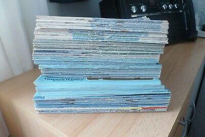 Man City old football home Programmes x 150 Bulk Lot