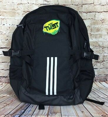 24c9c3f3d1 ADIDAS GOLF BACKPACK NWOT Pepsi Mist Twst Black Laptop bag