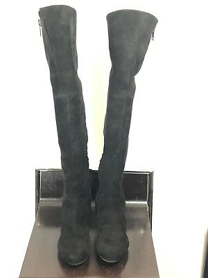 cc547464e778dd NEW Sam Edelman Paloma Black Suede Over The Knee Boots Women s Size 7.5 M
