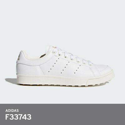 release date: 9039e c1c9b Adidas Womens Golf Shoes Adicross Classic F33743 Spikeless PU Free EMS   White